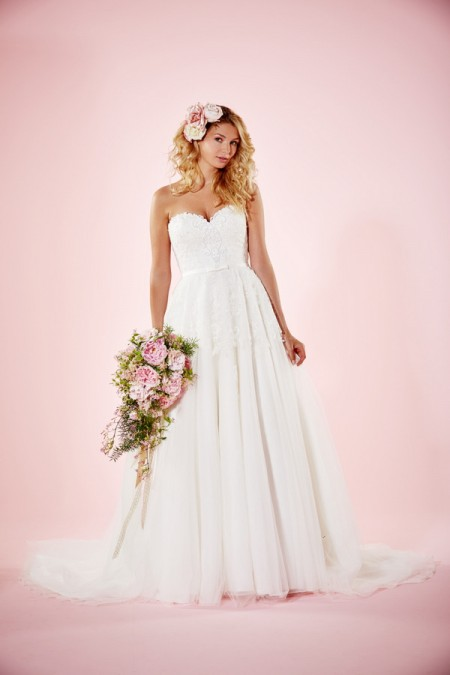 Picture of Melissa Wedding Dress - Charlotte Balbier Willa Rose 2016 Bridal Collection