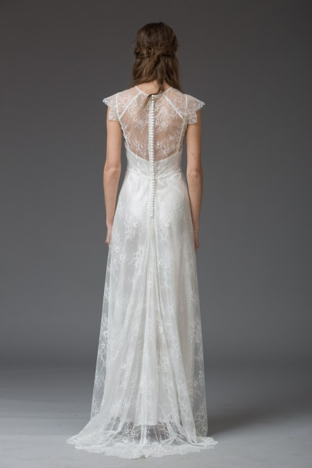 Picture of Back of Mona Wedding Dress - Katya Katya Shehurina Venice 2016 Bridal Collection
