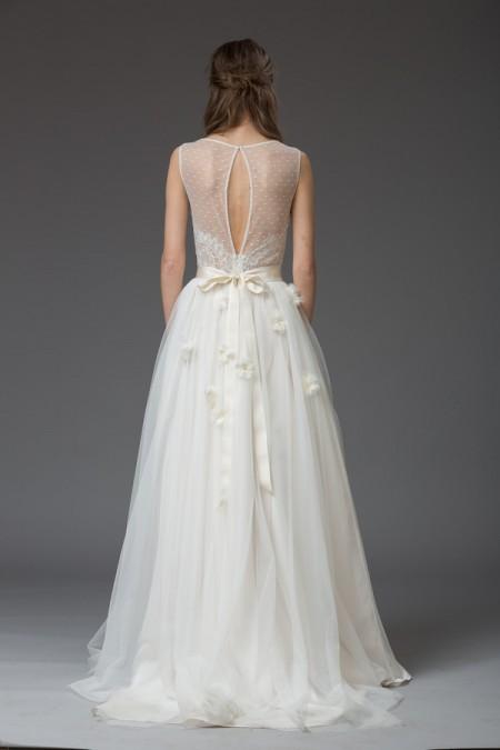 Picture of Back of Monica Wedding Dress - Katya Katya Shehurina Venice 2016 Bridal Collection