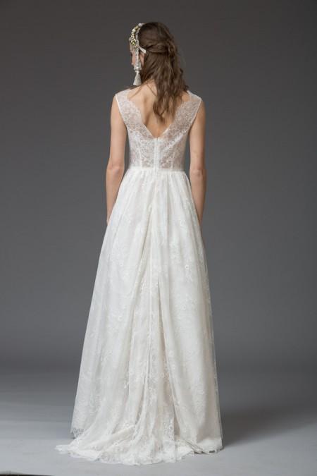 Picture of Back of Nicole Wedding Dress - Katya Katya Shehurina Venice 2016 Bridal Collection