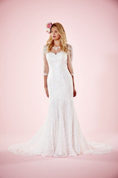 Picture of Orla Wedding Dress - Charlotte Balbier Willa Rose 2016 Bridal Collection