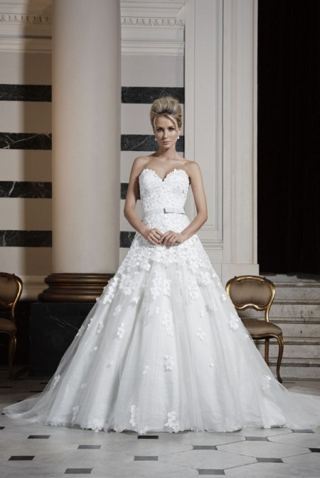 Picture of Paradis Wedding Dress - Ian Stuart Runway Rebel 2016 Bridal Collection