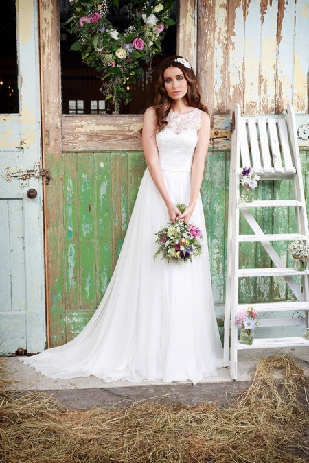 Picture of Promise Wedding Dress - Amanda Wyatt Promises of Love 2016 Bridal Collection