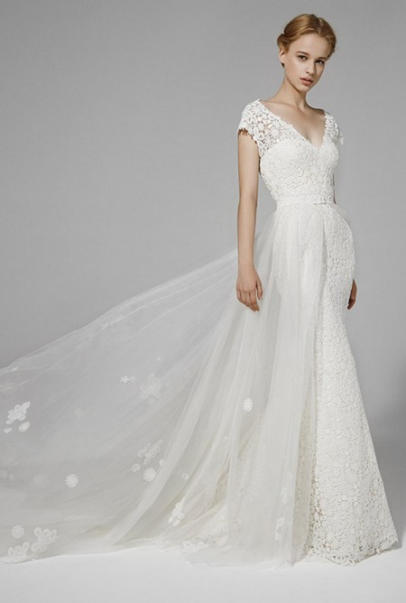 Picture of Rachel Due Wedding Dress with Skirt - Peter Langner 2016 Bridal Collection