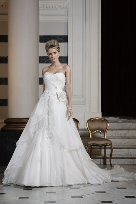 Picture of Raphaella Wedding Dress with Skirt - Ian Stuart Runway Rebel 2016 Bridal Collection