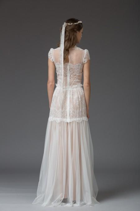 Picture of Back of Renata Wedding Dress - Katya Katya Shehurina Venice 2016 Bridal Collection