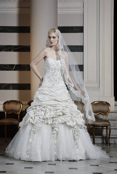 Picture of Rococo Wedding Dress - Ian Stuart Runway Rebel 2016 Bridal Collection