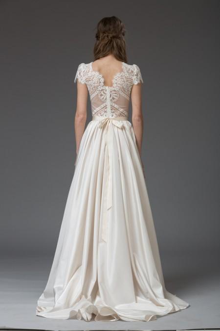 Picture of Back of Rosa Wedding Dress - Katya Katya Shehurina Venice 2016 Bridal Collection