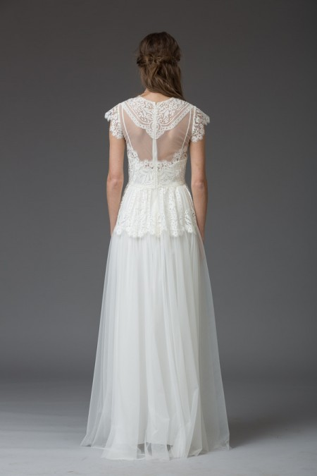 Picture of Back of Rossalia Wedding Dress - Katya Katya Shehurina Venice 2016 Bridal Collection