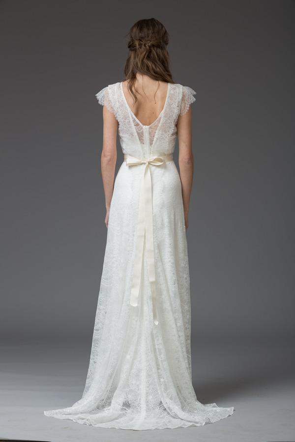 Picture of Back of Serena Wedding Dress - Katya Katya Shehurina Venice 2016 Bridal Collection