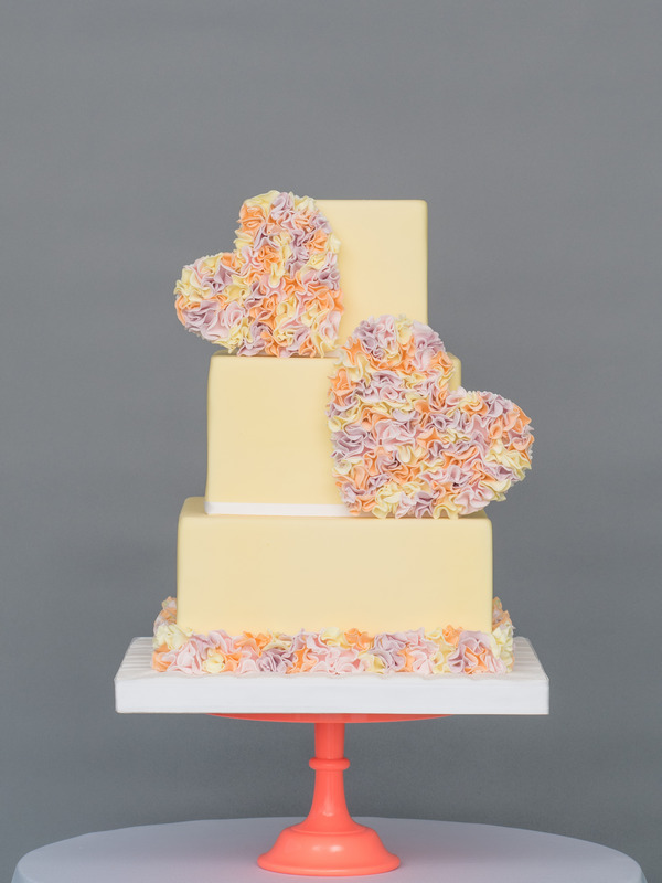 Summer Soul Mates Wedding Cake from Seasons of Sugar Collection by GC Couture