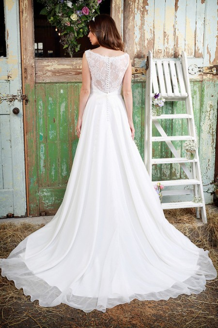 Picture of Back of Tamsin Wedding Dress - Amanda Wyatt Promises of Love 2016 Bridal Collection