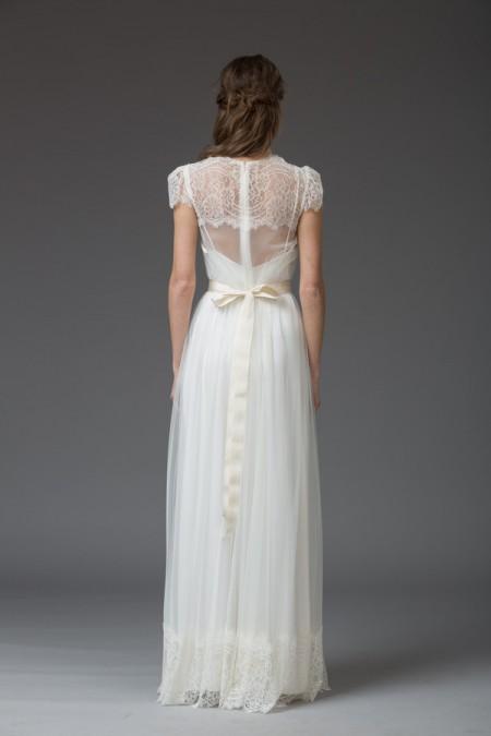 Picture of Back of Theresa Wedding Dress - Katya Katya Shehurina Venice 2016 Bridal Collection