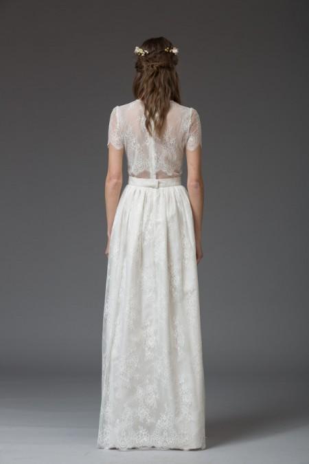 Picture of Back of Vera Wedding Dress - Katya Katya Shehurina Venice 2016 Bridal Collection