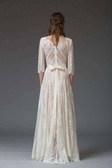 Picture of Back of Violetta Wedding Dress - Katya Katya Shehurina Venice 2016 Bridal Collection
