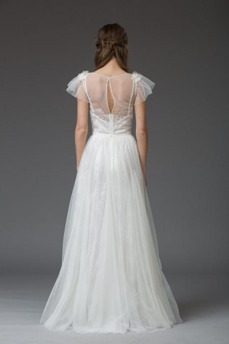 Picture of Back of Virginia Wedding Dress - Katya Katya Shehurina Venice 2016 Bridal Collection