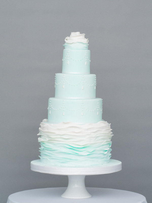 Winter Wishes Wedding Cake from Seasons of Sugar Collection by GC Couture