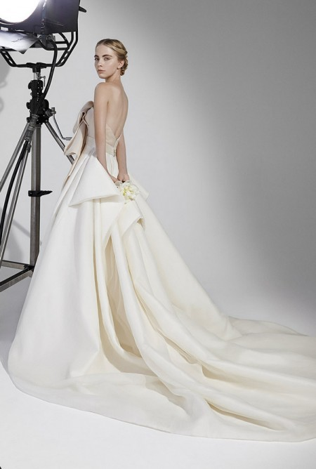 Picture of Back of Yves Wedding Dress - Peter Langner 2016 Bridal Collection