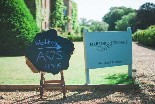 Narborough Hall Gardens entrance