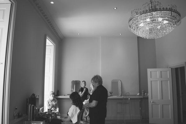 Pre-wedding preparations