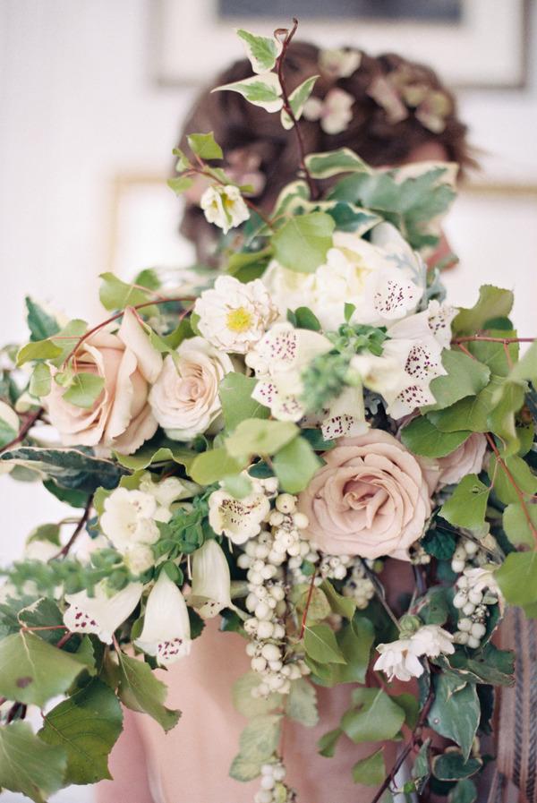 Autumn/winter wedding bouquet