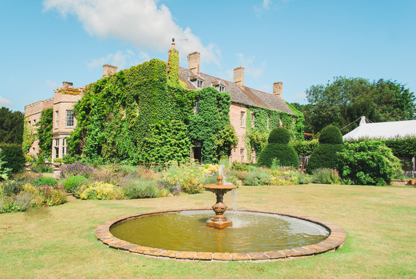 Fountain at Narborough Hall Gardens
