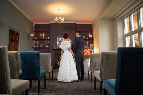 Civil wedding ceremony in The Alverton Hotel