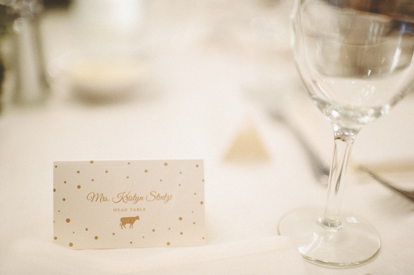 Wedding name card