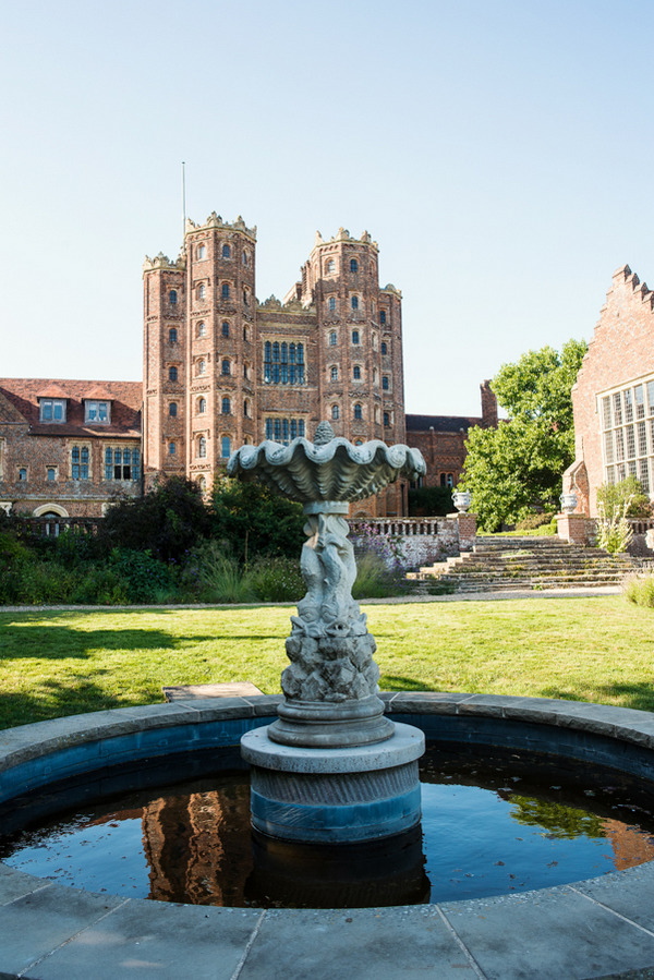 Fountain at Layer Marney Tower
