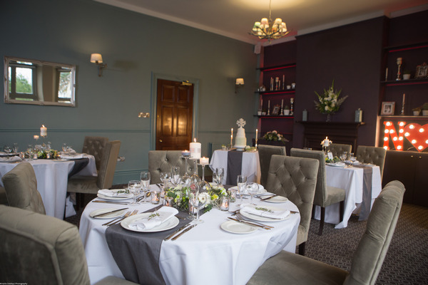 Chic wedding tables at The Alverton Hotel