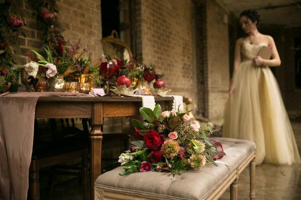 Beethoven Love Letter Inspired Wedding Shoot