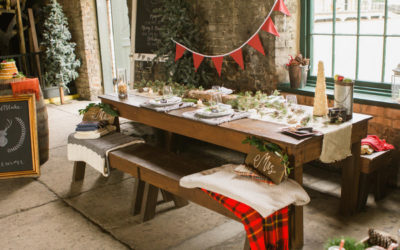 Cosy, Rustic Christmas Wedding Styling