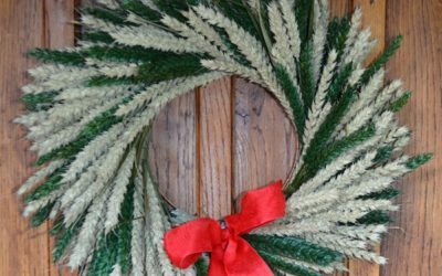Beautiful Christmas Wreaths from Shropshire Petals