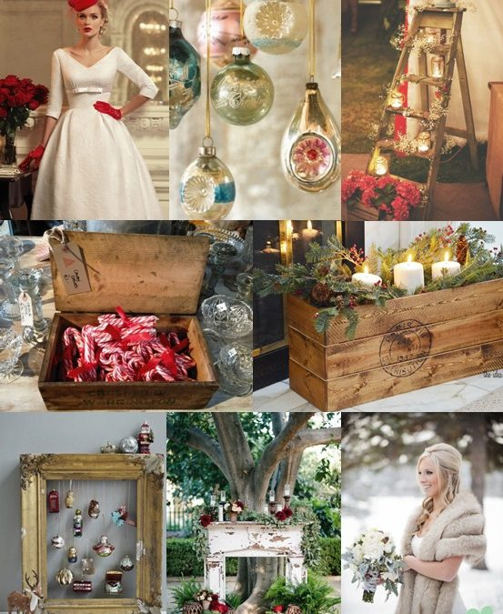 Vintage Christmas Wedding Ideas