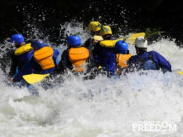 White Water Rafting - Top Hen Party Ideas and Activities