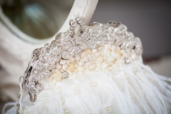 Wedding headband and veil