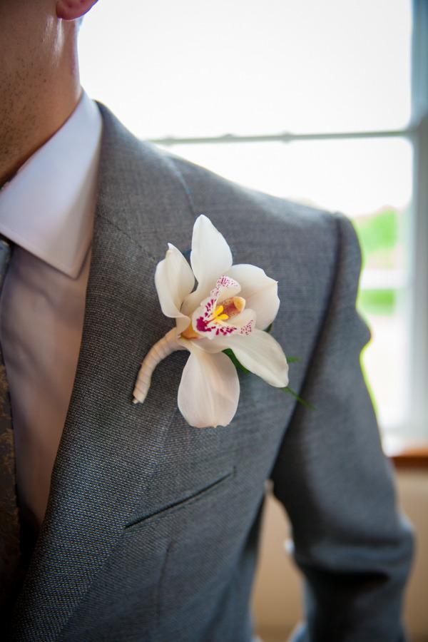 Lily buttonhole