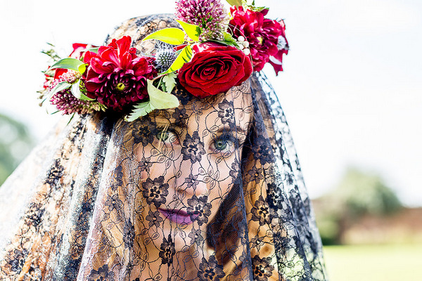 Dark and Quirky Autumn Wedding Styling
