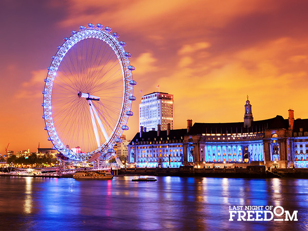 London - Top 10 Hen Party Locations