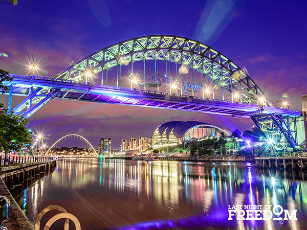 Newcastle - Top 10 Hen Party Locations