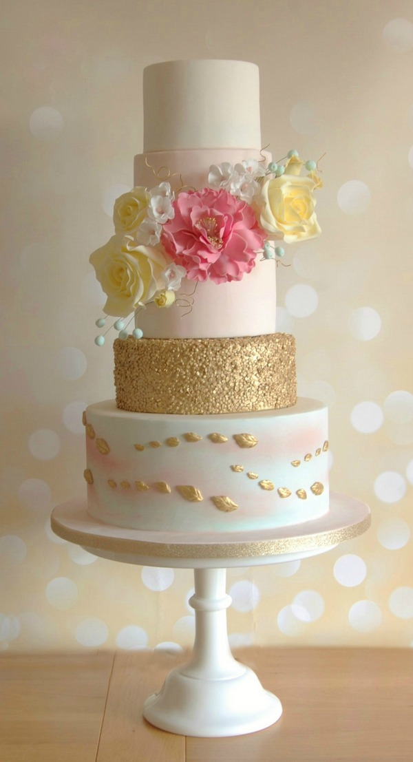 Whimsical Cake - Tiers of Happiness