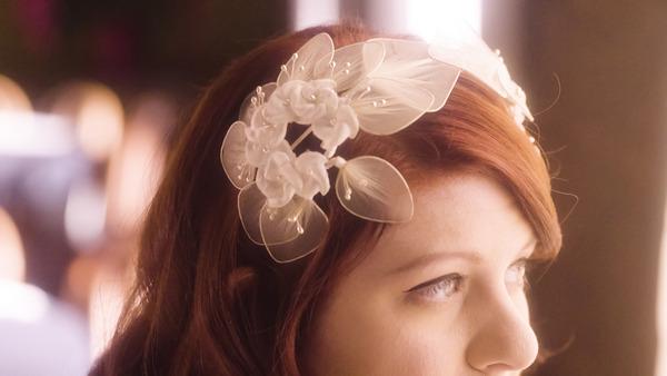 Bride's vintage hair piece