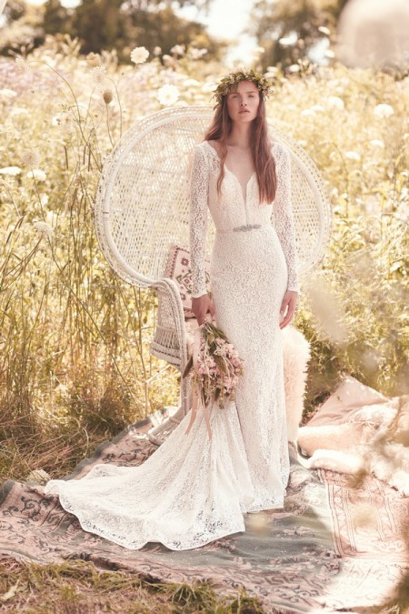 2050 Wedding Dress - Mikaella Spring 2016 Bridal Collection