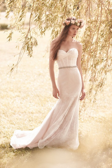 2052 Wedding Dress - Mikaella Spring 2016 Bridal Collection