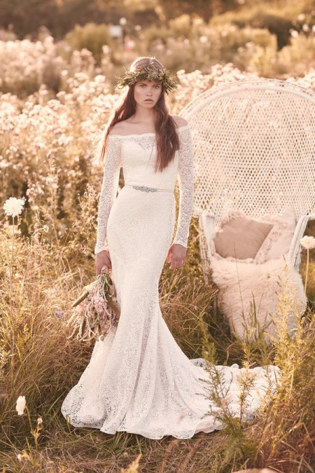 2055 Wedding Dress - Mikaella Spring 2016 Bridal Collection