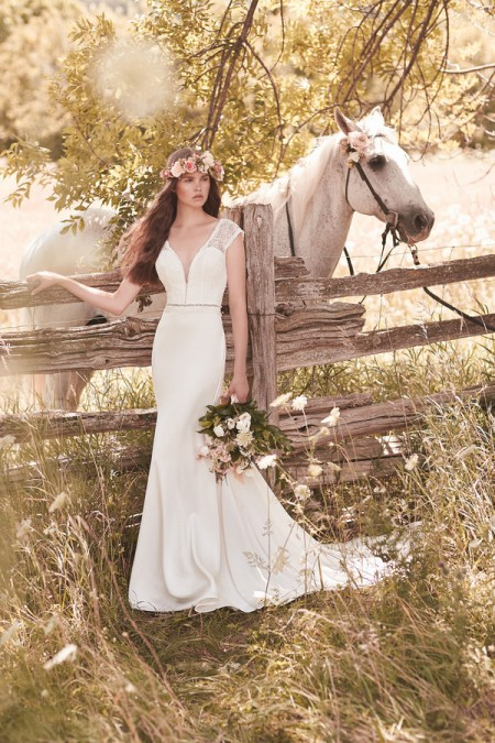 2057 Wedding Dress - Mikaella Spring 2016 Bridal Collection