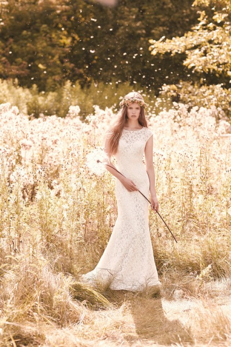 2059 Wedding Dress - Mikaella Spring 2016 Bridal Collection