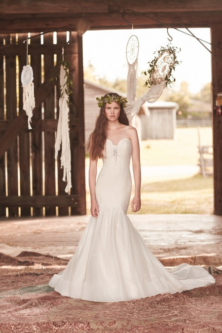 2060 Wedding Dress - Mikaella Spring 2016 Bridal Collection