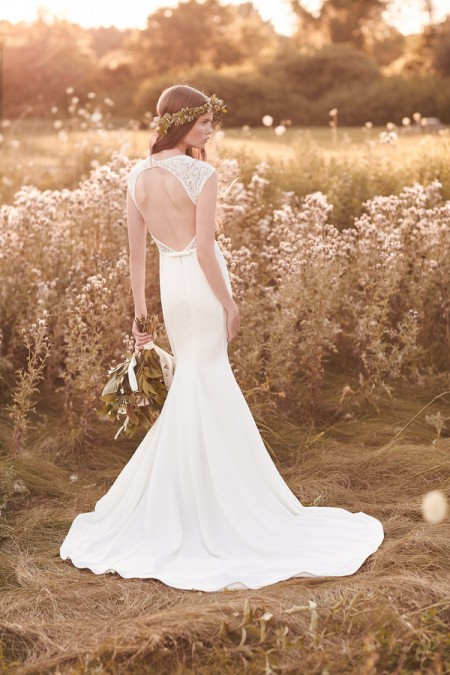 Back of 2062 Wedding Dress - Mikaella Spring 2016 Bridal Collection