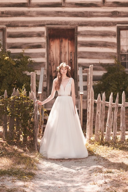 2063 Wedding Dress - Mikaella Spring 2016 Bridal Collection
